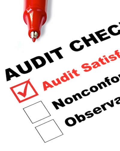Audits of transport and warehouse operations